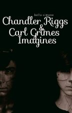 chandler riggs & carl grimes imagines [requests closed] by -bxllx-