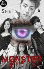 She's a Monster {iKON Junhoe} by eggeutart