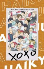HAIKYUU X READER by animeladyenthusiast