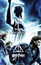 Percy Jackson ve Harry Potter I Kahramanlar Birleşiyor by branswolf