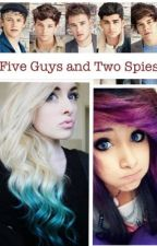 Five Guys and Two Spies by Haz_and_boo_123