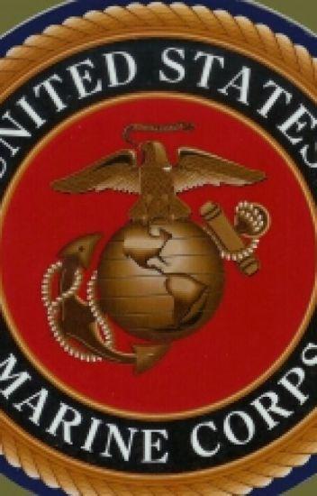 Girl in USMC