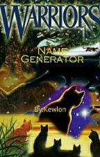 Warrior Cats Name Generator by Kewlon