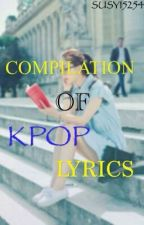 COMPILATION OF KPOP LYRICS by kriezzzy89