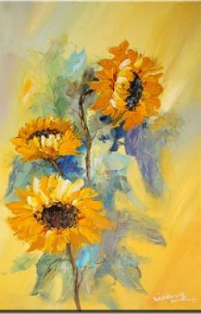 The Sunflowers by lunamarie333