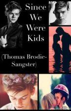 Since We Were Kids (Thomas Brodie-Sangster) by kiddieharriers