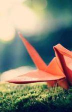 Suzaku x Lelouch Paper Crane Love by demontamer15