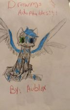DRAWINGS AND ADOPTABLES!!! by aublox