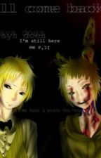 SpringTrap X Reader X Golden Freddy (HUMANS) by PhoenixTheKillerXoX