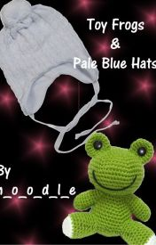 Toy Frogs & Pale Blue Hats by n_o_o_d_l_e