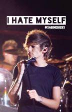 i hate myself  // l.s by sabinebiebs