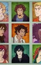 Mortals meet the Demigods by CAITFROMSPACE
