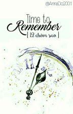 (12 chòm sao) Time To Remember by AnnaDo2001