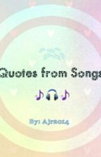 Quotes From Songs by Ajr2013