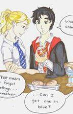 Demigod at Hogwarts by Atonima