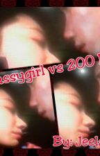sassygirl vs 200 IQ by larkjeel