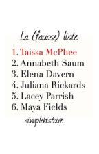 La (fausse) liste by simplehistoire