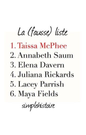 La (fausse) liste