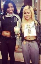 Hood life: Mya and Kya by BestiesBitch