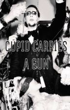 Cupid Carries a Gun (Marilyn Manson) by bloodclots
