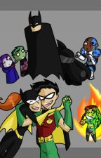 Batgirl meets teen titans by Sarahbear05