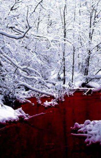 Blutdurchströmt im Wald