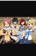 Fairy Tail High (JeRza, NaLu, GaLe, GrUvia) by fairytailwizard33