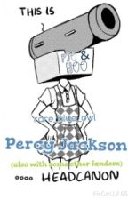 Percy Jackson headcannon (also with some other fandoms) by rareblueowl