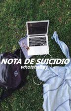 nota de suicidio | afi os by whoishalsey