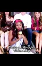 Normani and Her Chicken Wings by CaptainDinah