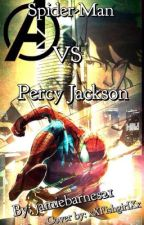 Spider man VS percy Jackson by jamiebarnes21