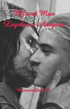 Elf and Man Legolas x Aragorn by marvelfan5543