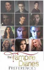 Vampire Diaries Preferences by JadeeCowleyy
