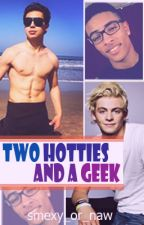 Two Hotties  and a Geek by smexy_or_naw