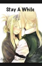 Stay a while (an FMA fanfic) by Dancerchild