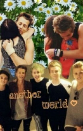 Another World (The Vamps/ James McVey and 5sos/ Luke Hemmings Fanfiction) by somebodytomcvey