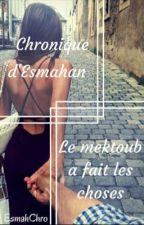 Chronique d'Esmahan : le mektoub a fait les choses by EsmahChro