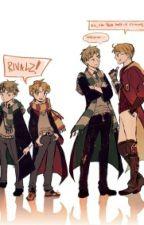 Teenage Rebel (UsUk Pottertalia fanfic) by Moony2020