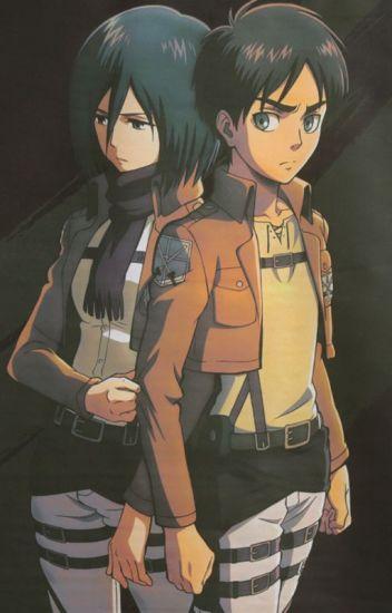 Eren x Mikasa ♡ Eremika   Shingeki no Kyojin (Attack on ...