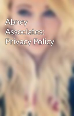 Abney Associates: Privacy Policy