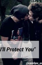 """I'll Protect You"" // Lashton AU by carefree_smiles"
