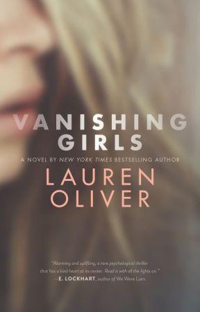 Vanishing Girls Writing Challenge by LaurenOliverBooks