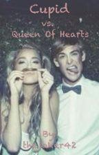 Cupid vs. Queen of Hearts by TheAceandTheFool