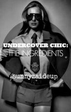 Undercover Chic: The Ingredients by sunnyzaideup