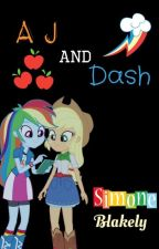 "A.J. And Dash! (An ""MLP: My Little Human""-Related Book) by SimoneBlakely"