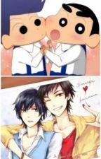 """One-shot Shin Chan""""juntos"""" (Yaoi) by CrazyFujoshi_801"""