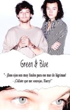 Green & Blue by catcutelouis