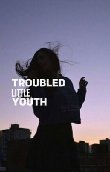Troubled little youth.