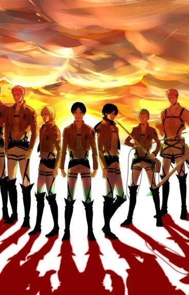 Se..I personaggi di Shingeki No Kyojin Avessero ... Whatsapp!
