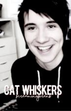 cat whiskers // phan. by ScreamingSirens